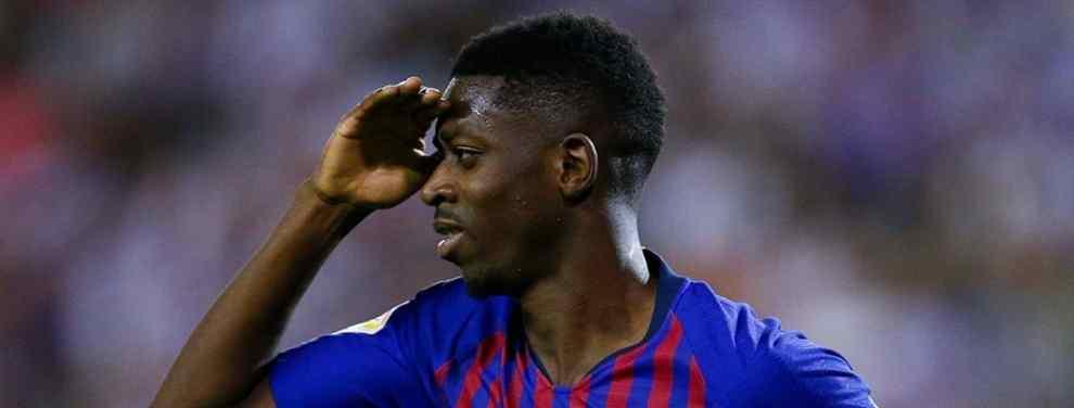 Ousmane Dembélé tiene su futuro en el Barça cada vez más difícil. Dentro del vestuario existe la traición, y Leo Messi está metido hasta el cuello. El francés apunta lejos del Camp Nou.