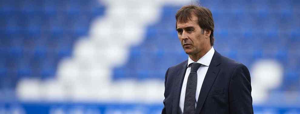 Florentino Pérez recibe una llamada: el técnico Top que se carga a Lopetegui en el Real Madrid