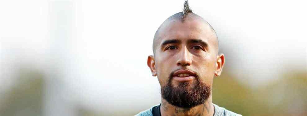 Arturo Vidal no ha tenido un inicio de curso nada fácil en el Barcelona. Relegado a un discreto segundo plano por Ernesto Valverde, el chileno no oculta su descontento.  Además, su carácter no encaja demasiado dentro del vestuario