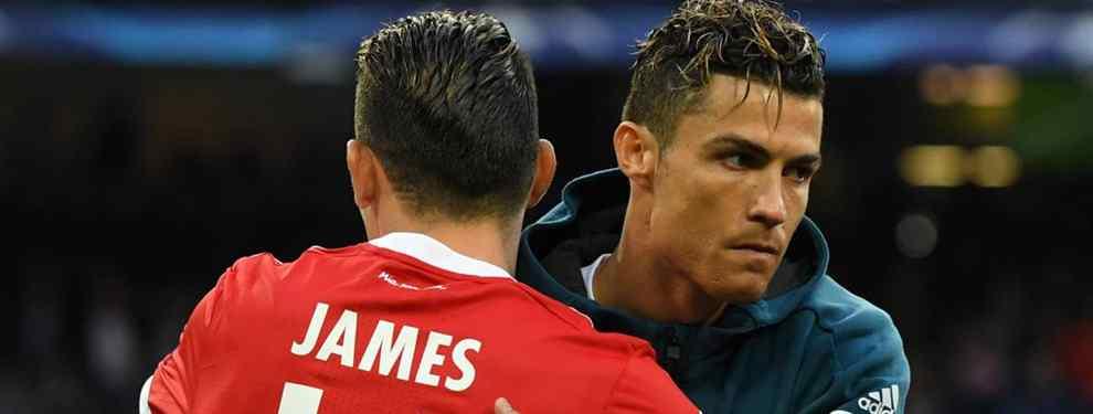 Cristiano Ronaldo y el mensaje a James Rodríguez: el fichaje que revienta el mercado
