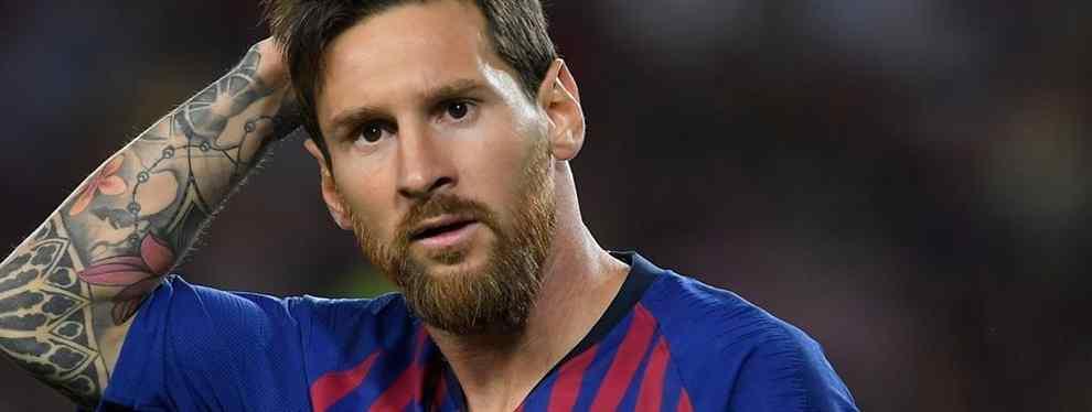 Florentino Pérez tiene un encargo: el fichaje que pone los pelos de punta a Messi