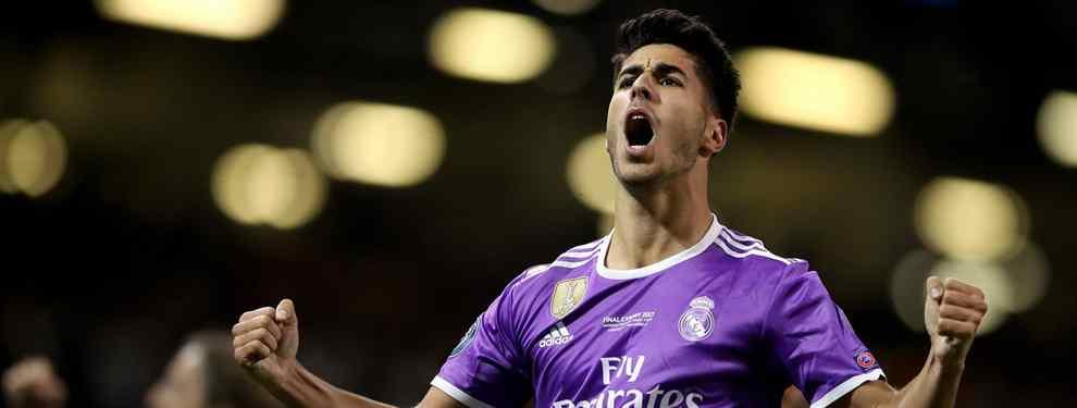 Florentino Pérez coloca a Marco Asensio: y es en un cambio de cromos bestial para el Real Madrid