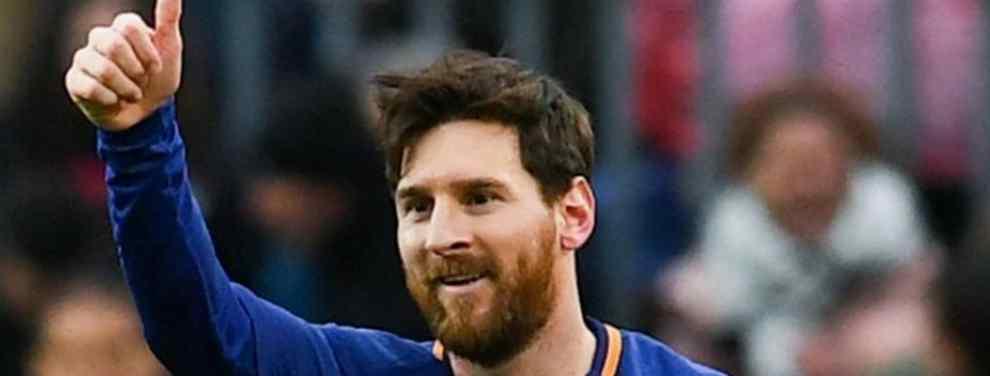 Leo Messi es todo un capitán en el Barcelona. El líder de un vestuario en el que trata de mantener una harmonía y una relación fluida con todos los compañeros.  Incluso con los que ya no están, cómo Paco Alcacer