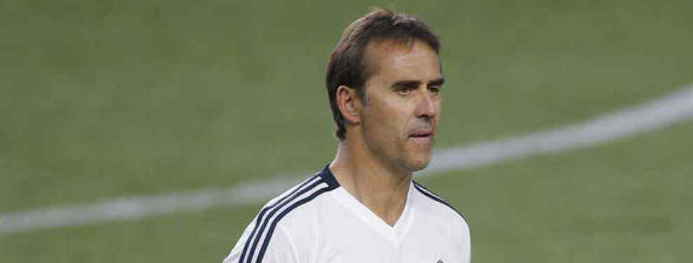 ¡Alucinante! Florentino Pérez tiene a una estrella del Barça en su lista para cargarse a Lopetegui