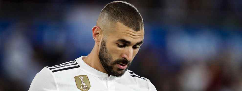 Benzema está en un cambio de cromos. Florentino Pérez activa la operación