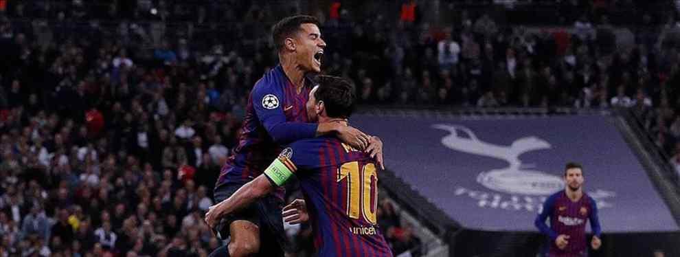 Coutinho sabe que hay un crack que está deseando fichar por el Barça y cargarse a Luis Suárez. El brasileño se lo cuenta a Messi. Se trata de un galáctico.