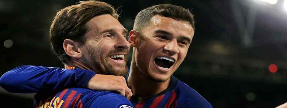 Fuga en el Barça. Y no lo frena ni Coutinho, ni Messi, ni nadie: oferta bestial para salir