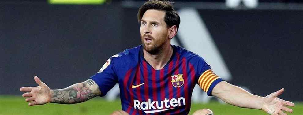 A Leo Messi no le hace falta el brazalete. Pese a que es algo simbólico, nunca lo ha necesitado para ser el comandante del Barcelona.  Por él pasan todas las decisiones clave que se toman en el Camp Nou.