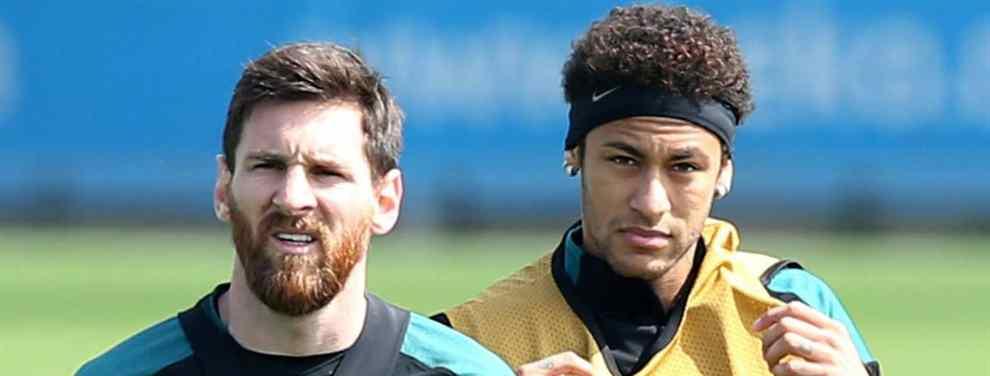 Messi y el mensaje a Neymar: ojo al lío. En el Barça alucinan (y Luis Suárez, también)