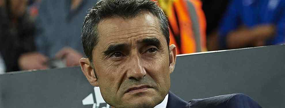 Ernesto Valverde no es un gran fan de Yerry Mina, cómo se pudo comprobar la temporada pasada. Ni siquiera la lesión de Vermaelen, que deja la defensa a cuadros, ha hecho arrepentirse al 'Txingurri' de la decisión de traspasar