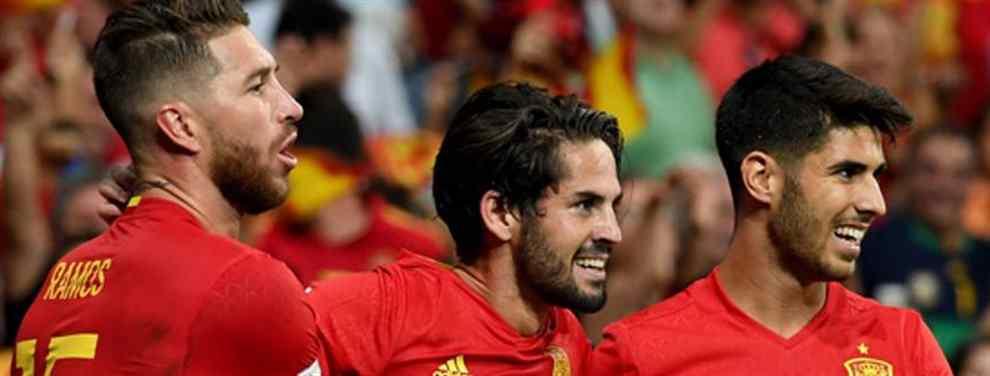 El delantero 'low cost' del que hablan Sergio Ramos, Isco y Marco Asensio (y es en enero)