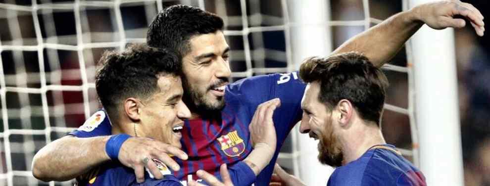 Cuenta atrás. El Barcelona del futuro llama a filas y no hay sitio para Ousmane Dembélé.  El crack francés, un buen chaval, afirman desde dentro, tiene un problema enorme en el campo: Messi lo quiere echar