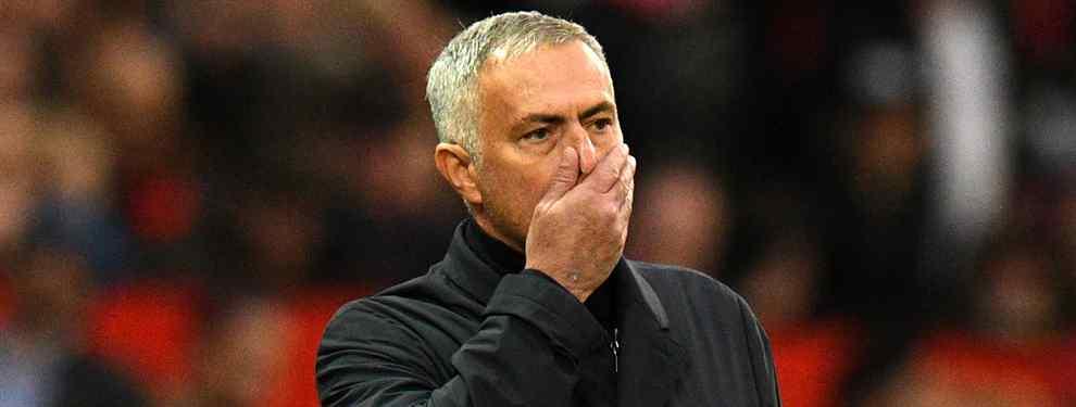Mourinho va al ataque: se lo quiere llevar al United (y es del Real Madrid)