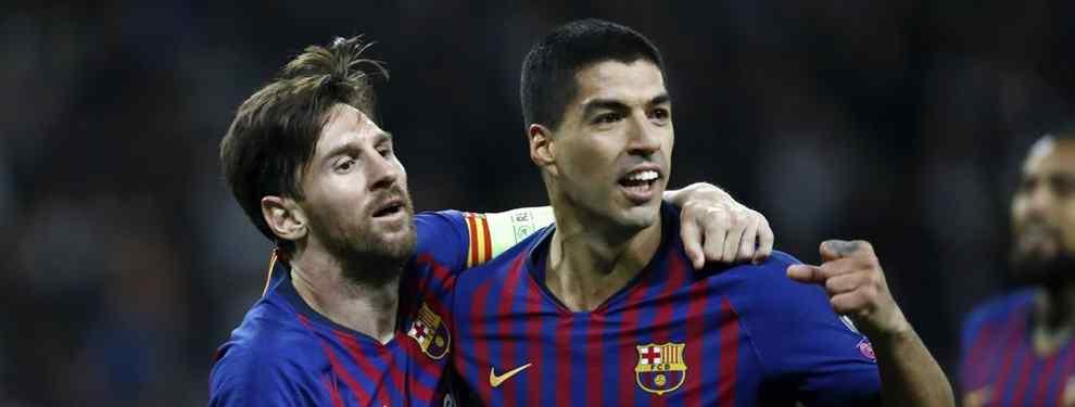 Luis Suárez tiene una oferta sobre la mesa para dejar el Barça más pronto que tarde. Una propuesta que se lo hace pensar y que Leo Messi teme más que nada.