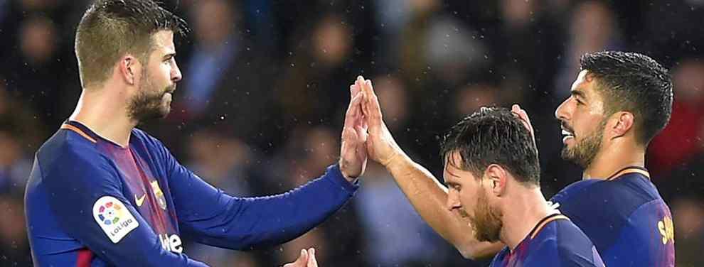 Deja tirado a Messi, Piqué, Luis Suárez (y compañía): fuga bestial en el Barça (y es para enero)