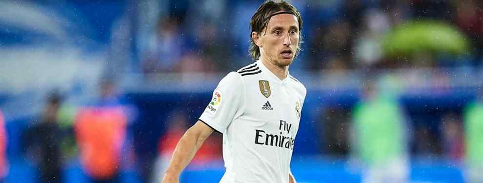 Luka Modric es otro de los pesos pesados que llega al final de su trayectoria. Con 33 años, el croata cree que ya ha ganado todo lo que podía ganar en el Real Madrid y se plantea firmar el último gran contrato de su vida.
