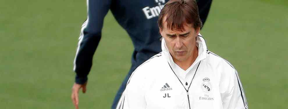 El jugador del Real Madrid que pedirá el traspaso a final de temporada si echan a Lopetegui