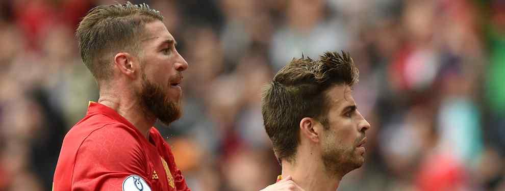 Sergio Ramos se entera del lío en el que está metido Gerard Piqué en el Barça. Lo que ha pasado en las últimas 24 horas en el conjunto azulgrana es importante.