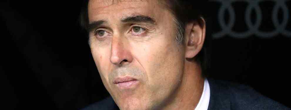 Julen Lopetegui no aguantará este último tropiezo ante el Levante en el Santiago Bernabéu. El técnico español ya está sentenciado por parte de Florentino Pérez y sabe que su futuro blanco tiene fecha de caducidad.