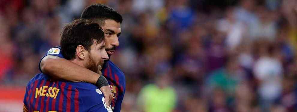 Luis Suárez se lo dice a Messi: el crack que se ofrece al Barça (y le quita el puesto)