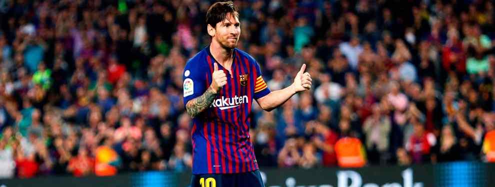 Leo Messi acaba lesionado el partido ante el Sevilla pero lanza una bomba que deja a Florentino Pérez tragando saliva. En el Barça se frotan las manos y en el Madrid se temen lo peor.