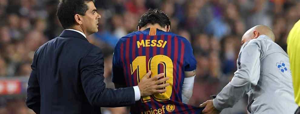 Messi señala el crack que debe dar un paso adelante mientras está de baja (y hay sorpresa)