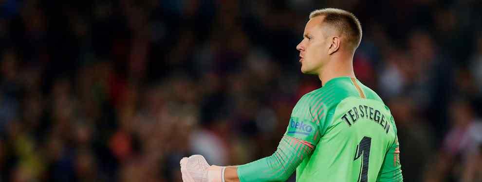 Ter Stegen avisa al Barça. Tiene una oferta (y de 100 millones) de un grande de Europa