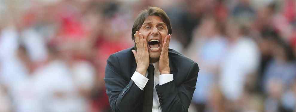 Antonio Conte es el candidato número uno para ocupar el puesto de Julen Lopetegui en el banquillo del Real Madrid. El italiano tiene una lista de altas y bajas para el club.