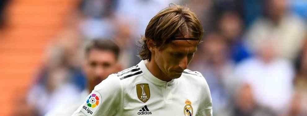 Modric elige al sustituto de Lopetegui. Se lo dice a Florentino Pérez (y llegaría con un fichaje)
