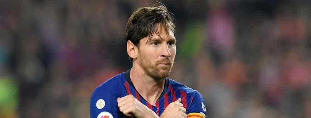 Messi recibe el chivatazo. Un crack está como loco por jugar en el Barça lo antes posible. En el conjunto azulgrana meditan su llegada, y saldría por unos 50 millones.