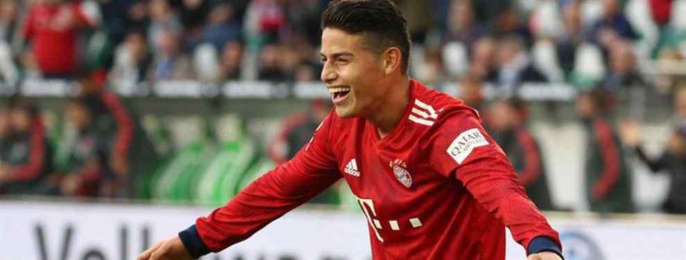 James Rodríguez tuvo un fin de semana soñado. De vuelta al once inicial, el colombiano realizó un buen partido en el que cerró el marcador en la victoria del Bayern de Múnich ante el Wolfsburgo.