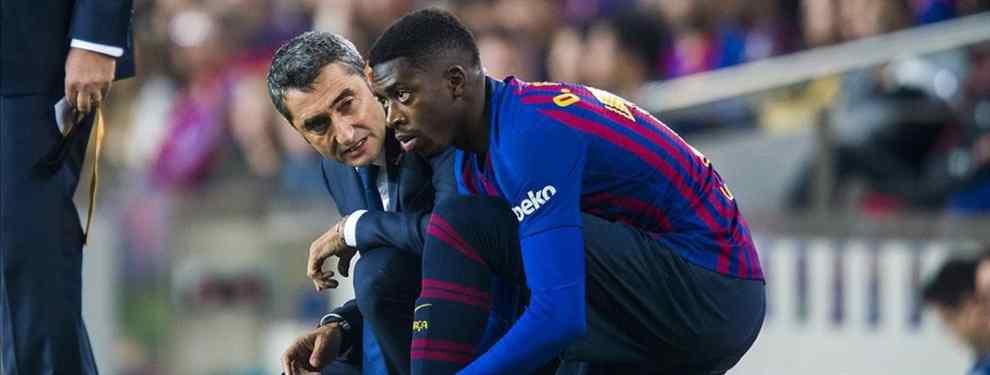 En el Barça están desesperados por encontrar un comprador para Ousmane Dembélé. El francés tiene los días contados en el conjunto azulgrana, y su precio está bajando.