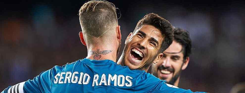 El vestuario del Real Madrid está dividido en dos clanes: el de españoles y el resto. Eso está claro. Tampoco cabe duda de que es el formado por Isco, Asensio, Ramos, Nacho y compañía el que tiene el control.