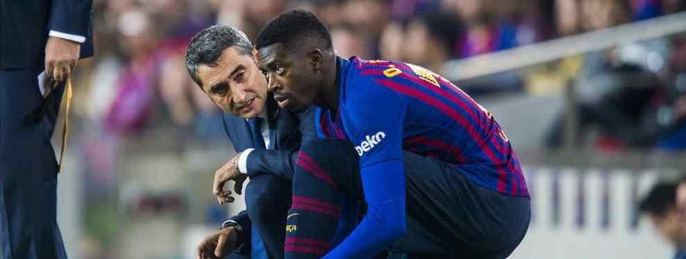Ousmane Dembélé lanza una amenaza muy seria a Ernesto Valverde. Y también tiene para Coutinho, Luis Suárez y Leo Messi. El francés va muy en serio con su mensaje.
