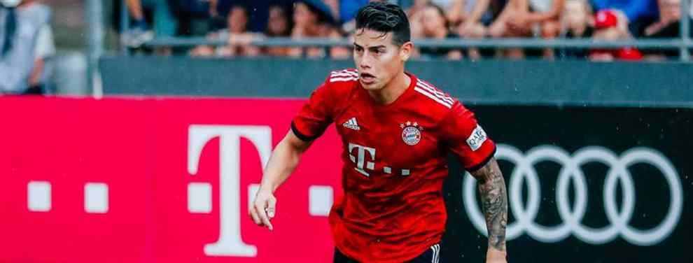 La situación de James Rodríguez no pasa desapercibida en Madrid. Sin apenas protagonismo en el Bayern de Múnich de Niko Kovac, el colombiano busca una salida de la Bundesliga.