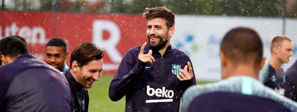 Gerard Piqué suelta la bomba en el Clásico. El central catalán hace llegar un mensaje a Sergio Ramos y compañía. Y el lío estalla en el partido del próximo domingo.