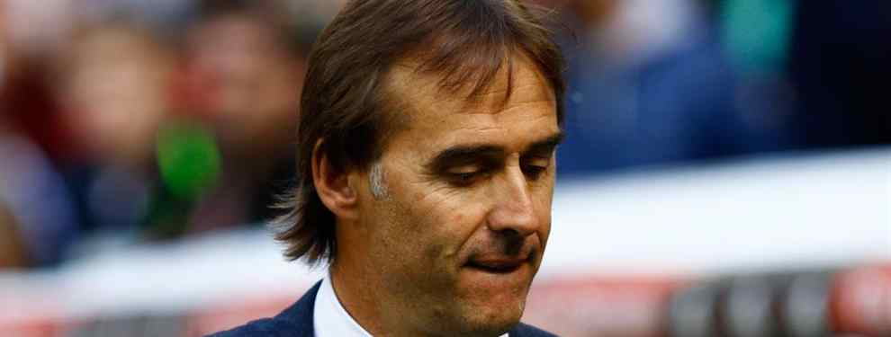 Esto se pone muy feo: pelea bestial de Lopetegui con un crack del Real Madrid