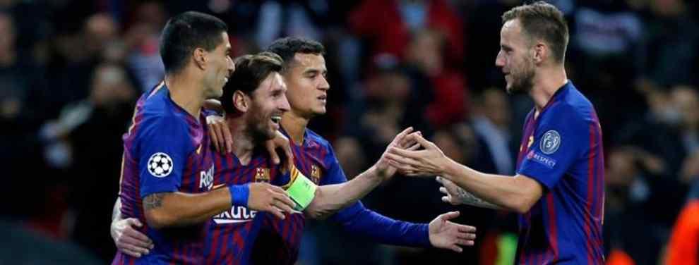 La victoria del Barcelona ante el Inter de Milán sirvió para calmar los ánimos en el Camp Nou y demostrar que la mala racha ya es cosa del pasado. También sirvió para caldear el ambiente antes de la visita del Real Madrid. Y para