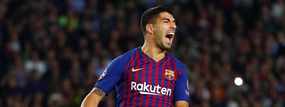 Luis Suárez sabe que lo peor con Ousmane Dembélé está por llegar. El Barça tiene un problema muy serio con el francés, y en el club son conscientes de que es así.