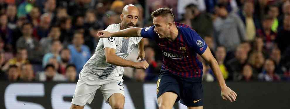 Arthur está siendo uno de los mejores jugadores del Barça en los últimos partidos. El brasileño saca los colores a Florentino Pérez con un Top Secret brutal.