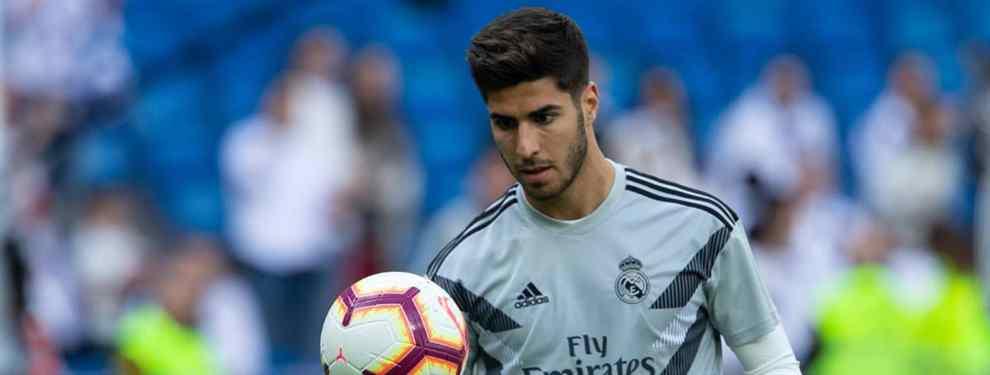Marco Asensio está en el punto de mira. El balear recibe una llamada que pone patas arriba al Real Madrid, y en el vestuario blanco saben de qué va el asunto.