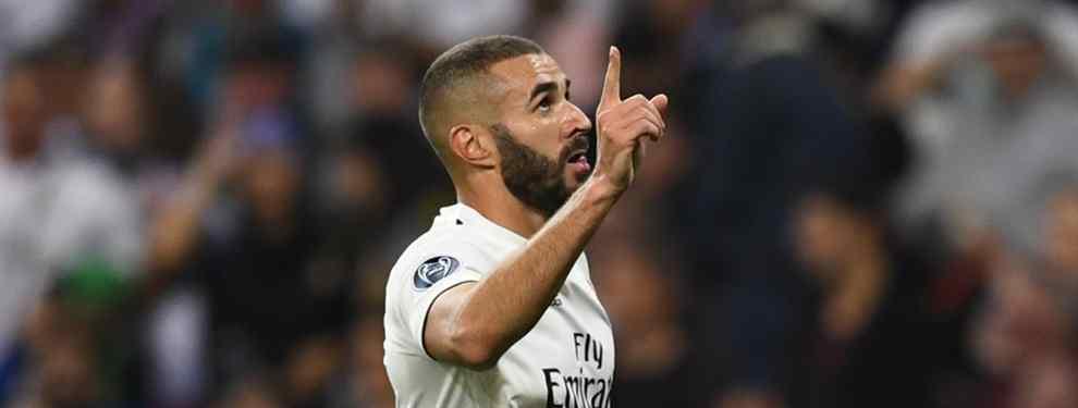 Benzema y el drama que tapan en el Real Madrid (y Florentino Pérez no sabe qué hacer)