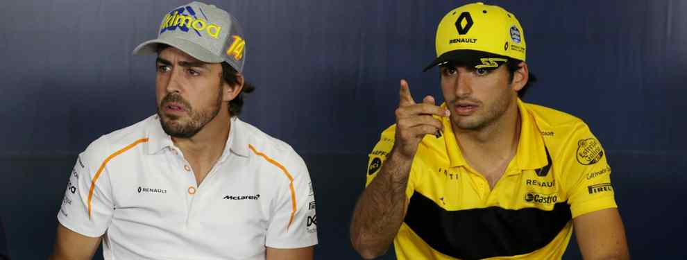 Carlos Sainz habla sin tapujos de lo que pasa con Fernando Alonso en la F1