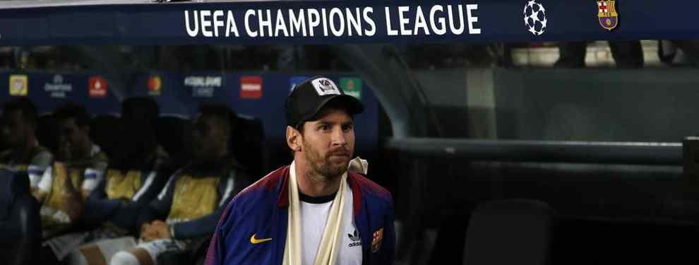 Leo Messi tiene unas palabras con Ernesto Valverde de cara al Clásico. El argentino sentencia a un crack y tiene un cara a cara con el técnico extremeño para aclararlo.