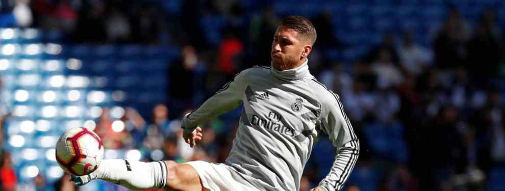 Florentino Pérez acelera un fichaje de cara al mercado de invierno. El presidente del Real Madrid quiere dejar atado al relevo de Sergio Ramos en el conjunto blanco.