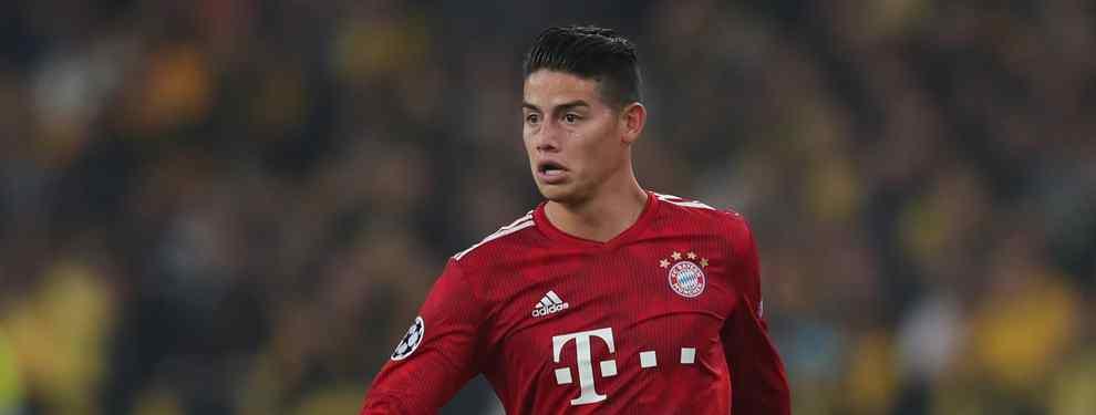 James Rodríguez se entera: El crack del Real Madrid que negocia con el Bayern de Múnich