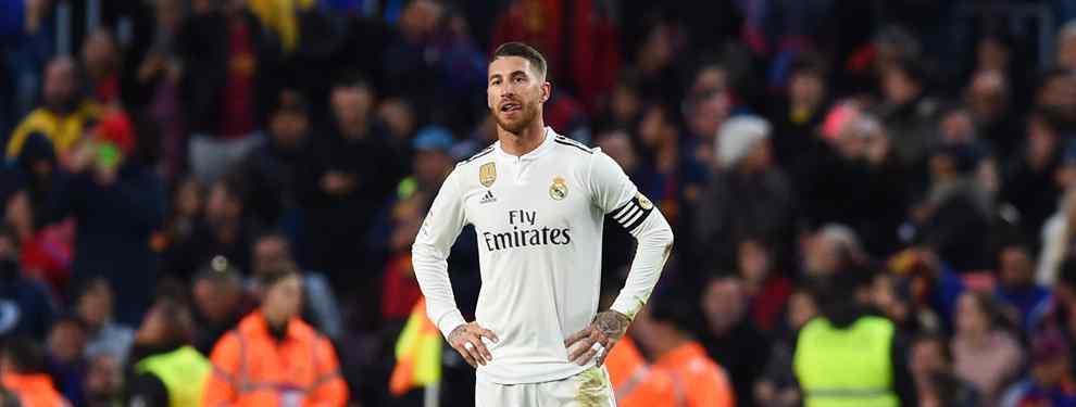 Sergio Ramos desatado: bronca bestial al final del Clásico (y Benzema y Bale están metidos)