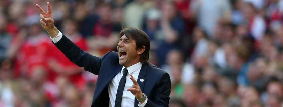 El primer fichaje que Conte le pide a Florentino Pérez es un bombazo