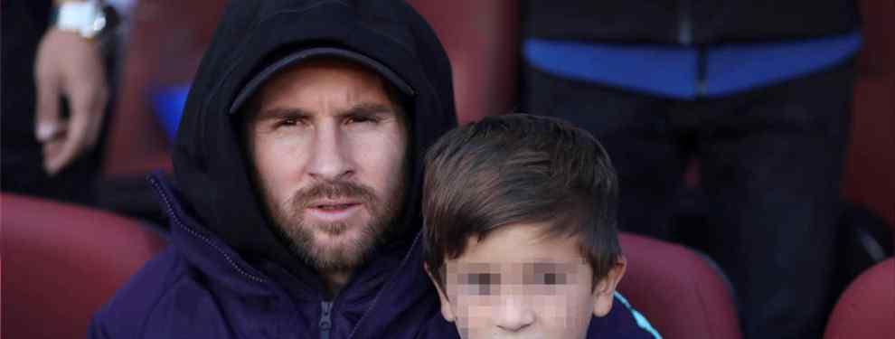 Messi y Piqué señalan a la oveja negra del Real Madrid