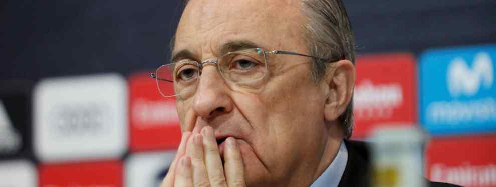 ¡A la calle! Florentino Pérez negocia un fichaje en la Premier: el primer galáctico para Conte
